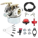 640084B Carburetor Carb for Tecumseh 5 HP /MTD/Craftsman 632107, 640084, 640105, 632107A, 640084A, 640084B Snowblower Carburetor 4HP & 5 HP Engines Toro Stens HS50 HSK40 HSK50 HSSK40 HSSK50 HSSK55 with Gasket Kit