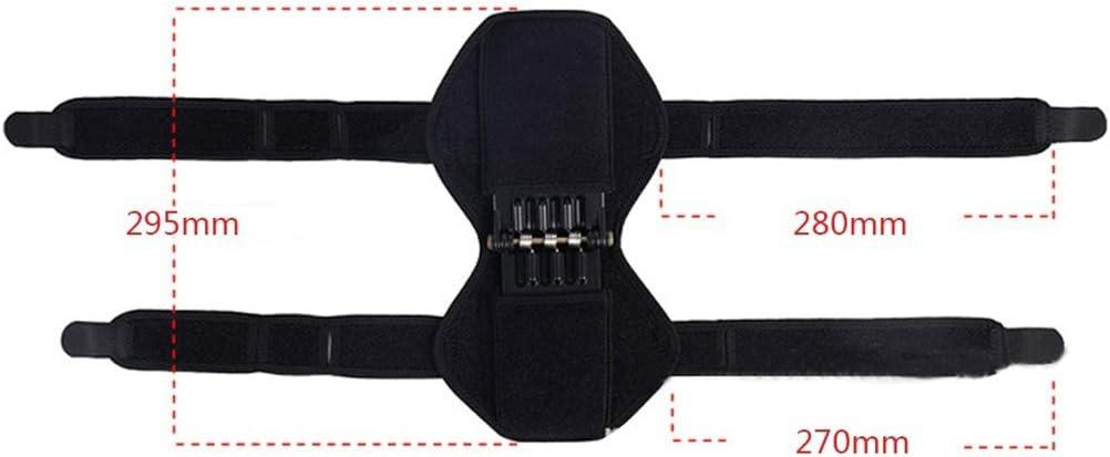 Neborn 1 Paar Gemeinsame Unterst/ützung Knie Pads Atmungsaktive Nicht-Slip Power Lift Gemeinsame Unterst/ützung Knie Pads Leistungsstarke Rebound Fr/ühling Kraft Knie Booster