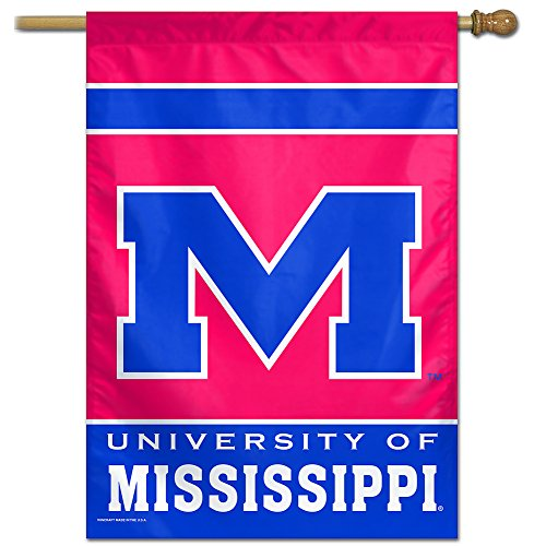 27x37 Vertical Banner - NCAA Ole Miss Rebels 27-by-37 inch Vertical Flag
