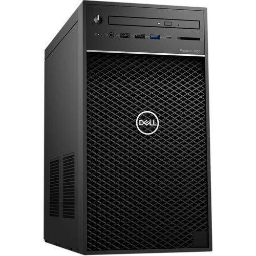 Dell Precision 3630 Business Workstation TWR – Intel i7-9700K 3.6GHz/32GB RAM/256GB PCIe SSD/Nvidia Quadro P620/2GB/3 Year Dell Warranty (Renewed)