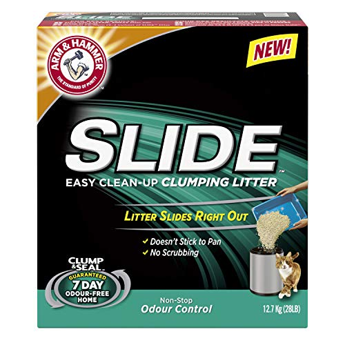 Church & Dwight Co. Arm & Hammer Slide Non-Stop Odor Control Clumping Litter 28lb ()