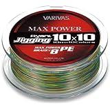 モーリス(MORRIS) PEライン バリバス アバニ ジギング10x10 マックスパワー 10mx10色のマーキングライン
