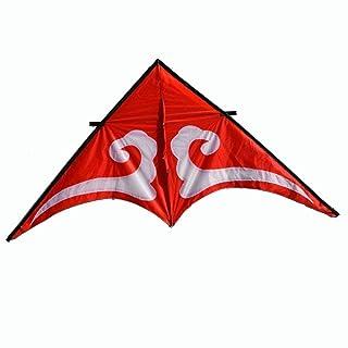 Aquilone Nuvole Grande Adulto Coda Lunga Triangolo Brezza Facile da Volare (Dimensioni : G.)