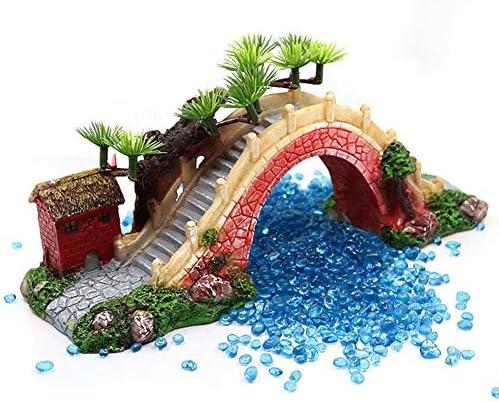 樹脂アーチ橋装飾、水槽水族館造園彫刻装飾、ホームガーデン中庭アクセサリー