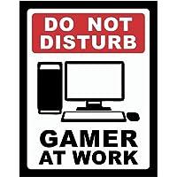 Placa Decorativa Gamer at Work Legião Nerd Multicor Pacote de 1