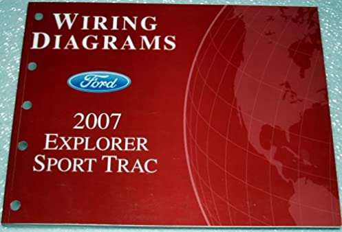 2007 ford explorer sport trac wiring diagrams ford amazon com booksFord Explorer Sport Wiring Diagram #17