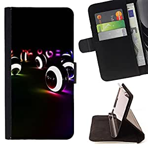 - Snooker Pool Ball American Pool - - Style PU Leather Case Wallet Flip Stand Flap Closure Cover FOR Sony Xperia Z3 Compact - Devil Case -