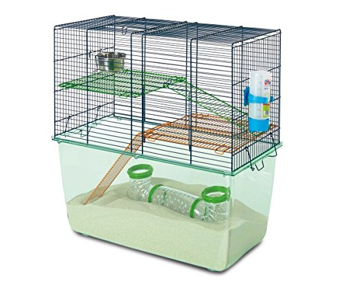 Savic Habitat Navy Blue Gerbil Cage, 52 x 26 x 52.5 cm by Savic 53014