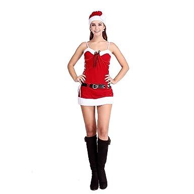 VENI MASEE Frauen sexy geheimen Sankt-Kostüm / Frau Fräulein Weihnachten  Kostüm Kostüm Outfit ,