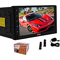 7 Inch Android 6.0 Marshmallow Car Stereo 2 Din In Dash GPS Navigation Bluetooth Radio Audio System Support Phone Mirror USB SD Cam-in OBD2 WiFi with External Microphone