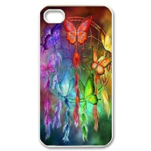 Hard Shell Case Of Dream Catcher Customized Bumper Plastic case For Iphone 4/4s