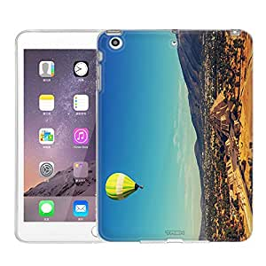 Apple iPad Mini Case, Snap On Cover by Trek Balloon over Mexico One Piece Slim Case