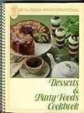 Desserts and Party Foods Cookbook, Beta Sigma Phi International, 0871971437