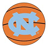 Kyпить FANMATS NCAA UNC University of North Carolina - Chapel Hill Tar Heels Nylon Face Basketball Rug на Amazon.com