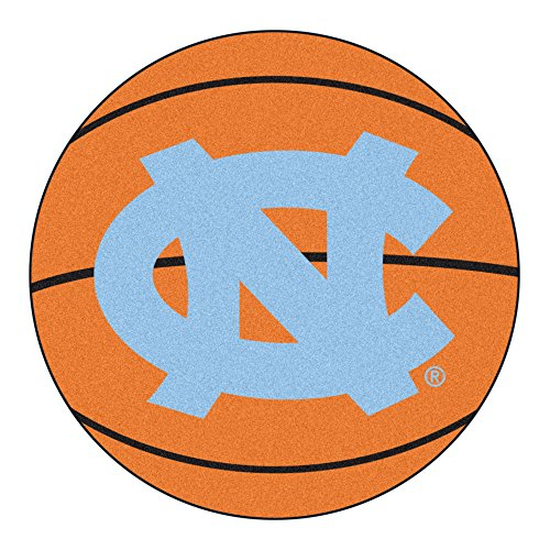 - FANMATS NCAA UNC University of North Carolina - Chapel Hill Tar Heels Nylon Face Basketball Rug