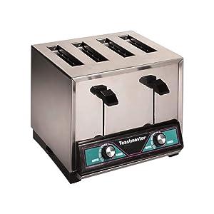 Toastmaster TP424 4 Slice Pop-Up Commercial Toaster - 208/240V, 2000/2600W