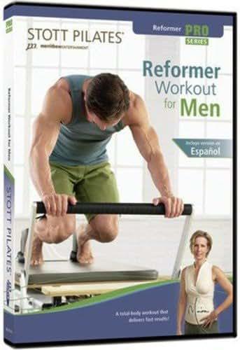 STOTT PILATES Reformer Workout for Men (English/Spanish)