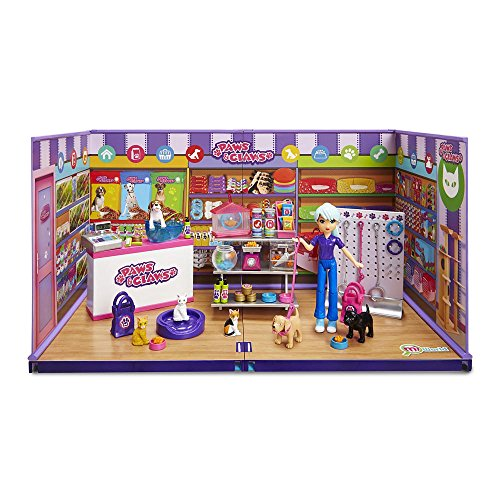 miWorld Paws and Claws Pet Supply Boutique Playset