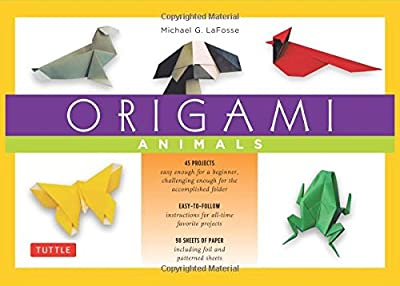 Origami Animals Kit: [Origami Kit with Book, 98 Papers, 45 Projects]