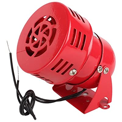 BQLZR Industrial AC 110V 120dB MS-190 Alarm Sound Motor High Power Buzzer Siren
