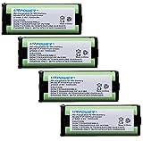 URPOWER® 4x Home Phone Battery for Panasonic HHRP105 HHR-P105 HHRP105A HHR-P105A KX242 KX-242 KX2420 KX-2420 KX2421 KX-2421 KX2422 KX-2422 Dantona BATT105 BATT-105 Empire CPH508 CPH-508 GE 86420