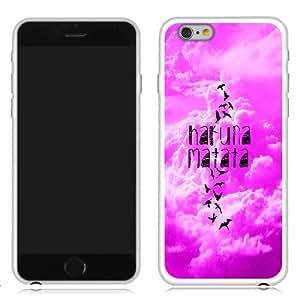 Fincibo (TM) Apple iPhone 6 4.7 inch TPU Silicone Protector Case Cover Soft Gel Skin - Freedom Hakuna Matata (Style 2)