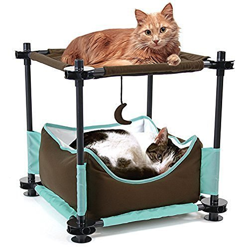(Kitty City Steel Claw Sleeper Cat Bed Furniture)