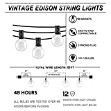 Afirst Outdoor String Lights 100 Ft with 100+5