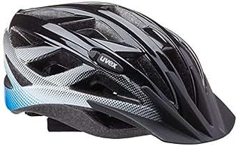 Uvex Xenova - Casco de ciclismo black white-blue Talla:52-57 cm