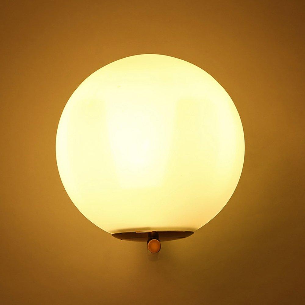 Couloir Led Chambre De Globe Applique Mur Boule Verre Décoration Interieur Lampe Murale Jiayoujia Cuisine Balcon Salon Bureau wn0PkON8X