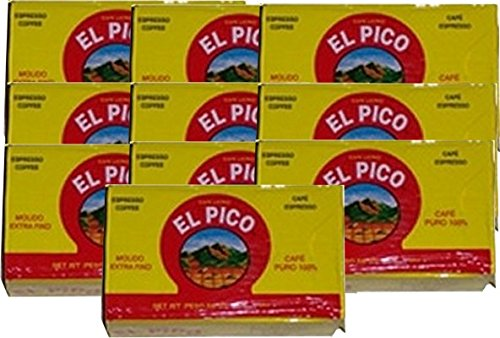 Amazon.com : Cafe El Pico 10 PACK Dark Roasted Ground Coffee 10 x 284 g : Grocery & Gourmet Food