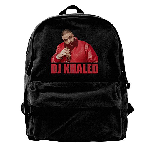 ARMAN HUGO DJ Khaled Unisex One Size Cool Canvas Travel Backpack Hiking Mountaineering Daypacks (2)
