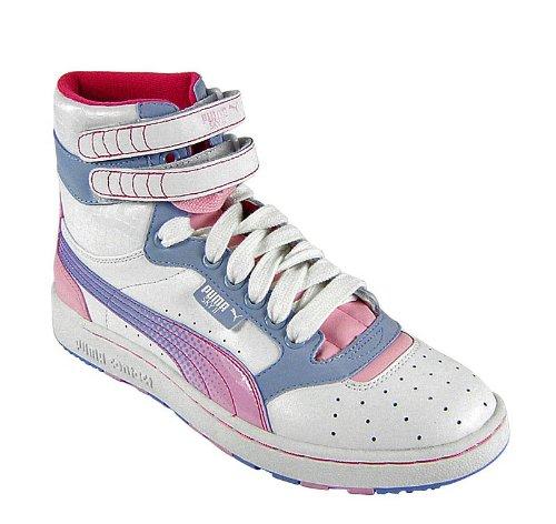 2 Pink Weiß Puma Wns Island Hi Sky weiß Blau pink Pqw875