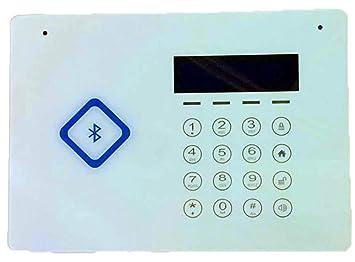 Alarma De La Seguridad Del G/M, Control De Acceso Antirrobo ...