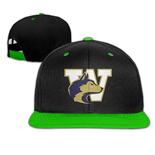 Washington University Huskies Adjustable Casual Hip-hop Baseball Cap ()
