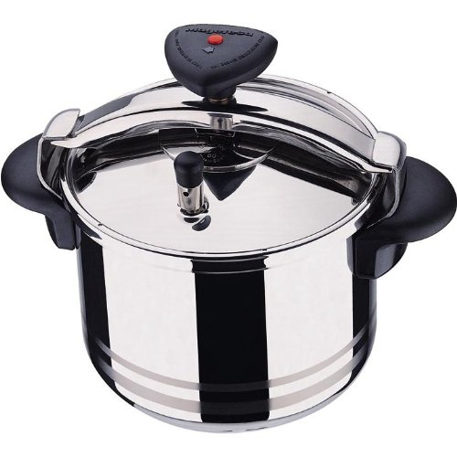 - Magefesa Star R 6L / 6.3 Quarts Stainless Steel Pressure Cooker