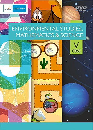 Edurite DVD for CBSE Class 5 Mathematics, EVS and Science Combo