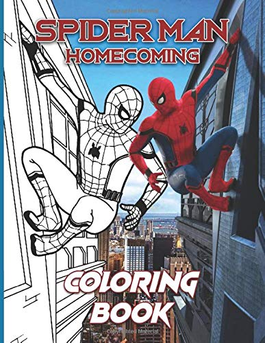 Spider Man Homecoming Coloring Book Excellent Adult Coloring Books Gifted Adult Colouring Pages Fun Amazon De Spencer Kai Fremdsprachige Bucher