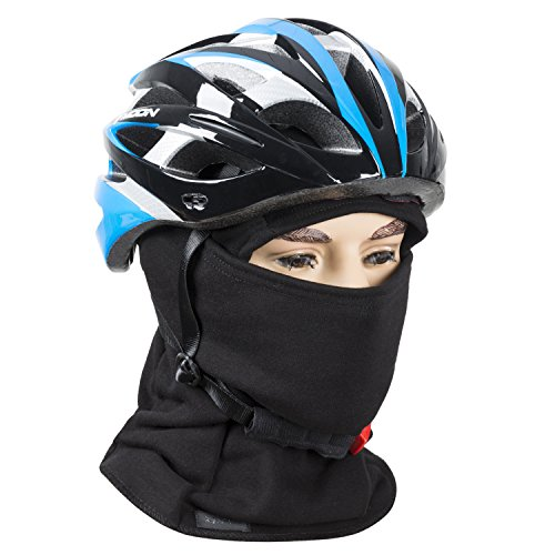 Fleece lined Balaclava, Winter Windproof Ski face Mask ,thermal Motorcycle Neck Warmer and Tactical Balaclava Hood by REDESS