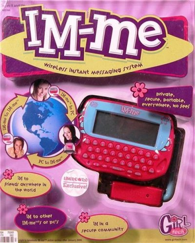 Radica IM Me Wireless Handheld Device - PINK & TEAL Colored