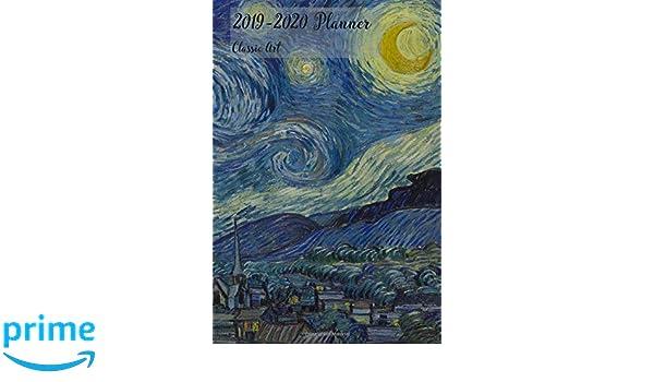 2019-2020 Planner Classic Art: Small Academic 2019-20 Agenda ...