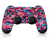 Controller Gear Officially Licensed Controller Skin - Bubble Gum Camo - PlayStation 4