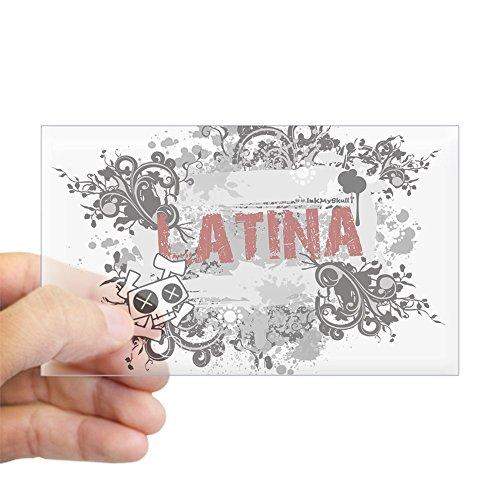 54fba967f8b3a CafePress - Latina Rectangle Sticker - Rectangle Bumper Sticker Car Decal