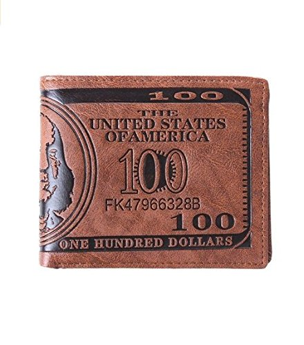 HENGSONG Men US Dollar Bill Wallet