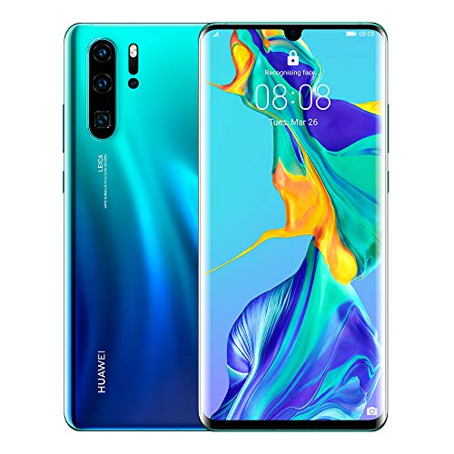 Huawei P30 Pro 256GB+8GB RAM (VOG-L29) 40MP LTE Factory Unlocked GSM Smartphone (International Version, No Warranty in the US) (Aurora)