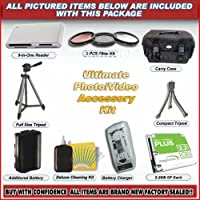 ULTIMATE ACCESSORY KIT FOR CANON DIGITAL REBEL XT 350D