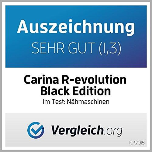 Macchina da cucire Carina Revolution Black Edition 2020