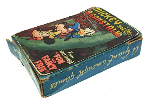 Beanstalk Game - Disney Vintage Walt Mickey and The Beanstalk Card Game Pepys Series