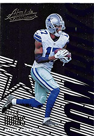 4c2169e118f 2018 Absolute Football #26 Allen Hurns Dallas Cowboys Official NFL Trading  Card made by Panini