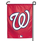 "MLB Washington Nationals Garden Flag, 11""x15"", Team Color"